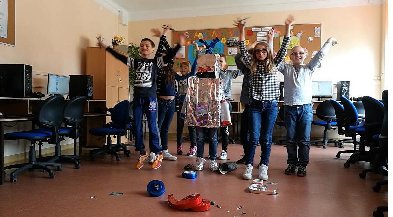 Szkoła Podstawowa w Małogoszczu w Ogólnopolskim Programie SUPER KODERZY!!!