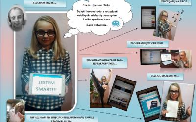 Udział uczniów SP Małogoszcz w Ogólnopolskim Konkursie JESTEM SMART