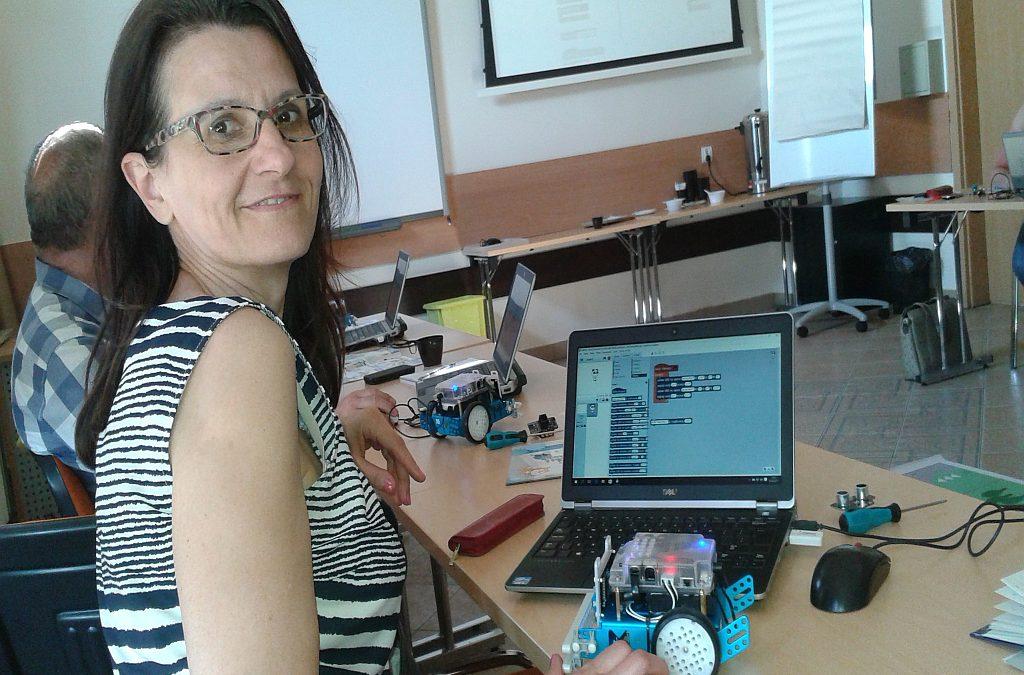 Nauczyciele poznali Scratcha i mBota