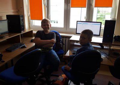 Pierwsze zajęcia z programowania za nami