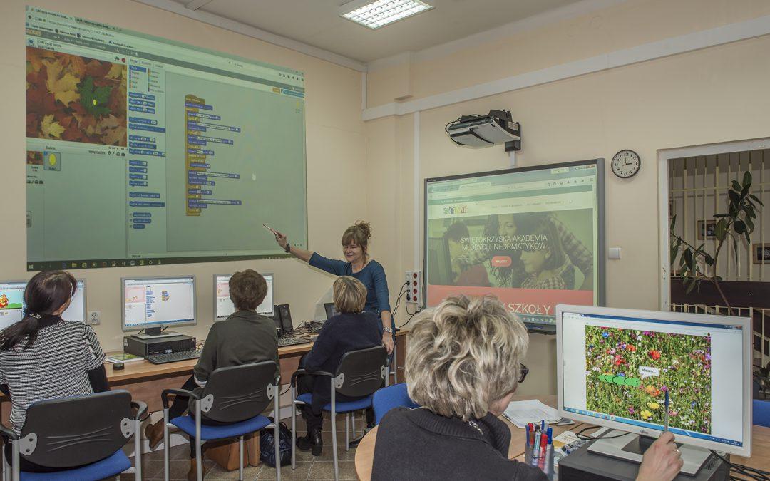"""Warsztaty dla nauczycieli """"Programowanie w języku Scratch"""""""