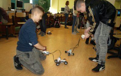 Robotyka – nic trudnego! warsztaty dla klasy 5
