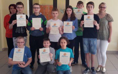 Udział uczniów SP Małogoszcz w XI Międzynarodowym Konkursie Informatycznym Bóbr – Benjamin